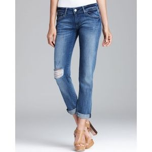 DL1961 | Riley Boyfriend Jeans Distressed Wash